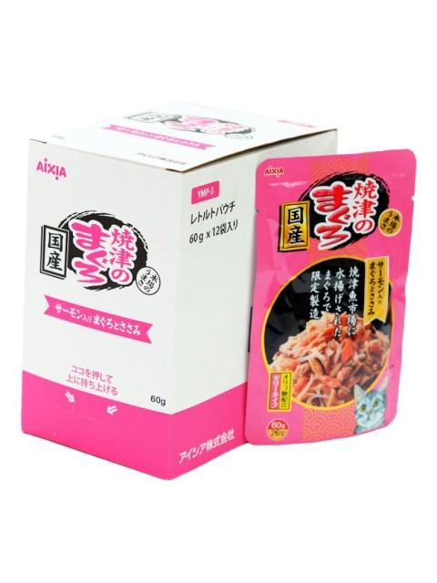 "AIXIA ""Yaizu-no-Maguro"", тунец, куриное филе и лосось в желе"