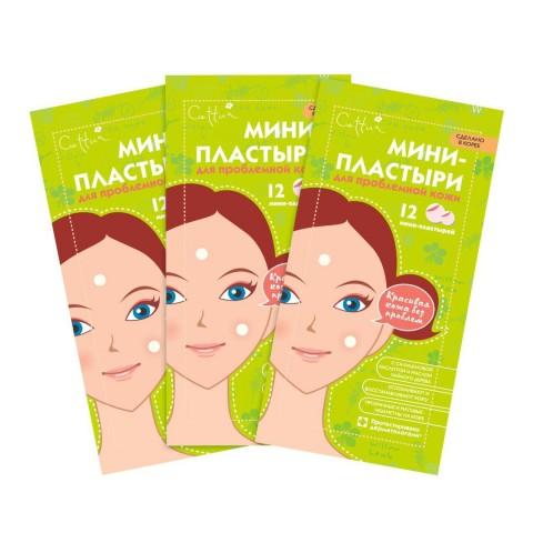 CETTUA Мини-пластыри для проблемной кожи с салициловой кислотой и маслом чайного дерева