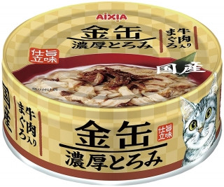"Консервы для кошек AIXIA ""Kin-Can"" Rich, тунец и говядина.70 г"