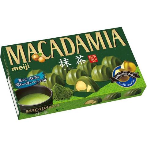 Шоколад Макадамия Матча Meiji коробка 9 шт.