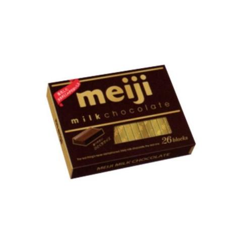 Натуральный молочный шоколад Meiji коробка 26 шт.