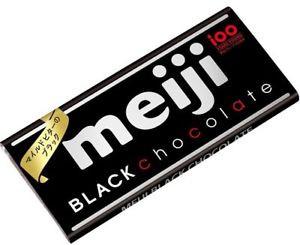 Темный шоколад Meiji мягкая упаковка 50 г