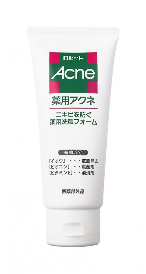 Пенка с противовоспалительным действием для проблемной кожи лица ROSETTE