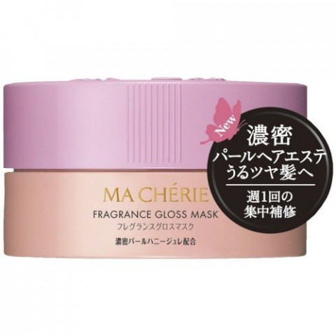 """Маска-блеск для поврежденных и тусклых волос SHISEIDO """"Ma Cherie"""", цветочно-фруктовый аромат"""