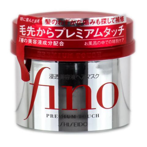 """Маска для сухих волос """"Восстановление и увлажнение"""" с пчелиным маточным молочком SHISEIDO """"Fino"""" Premium Touch"""