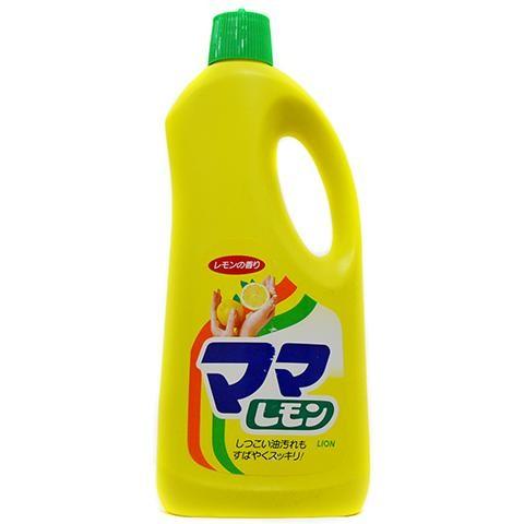"""Средство для мытья посуды с ароматом лимона LION """"Mama Lemon"""""""