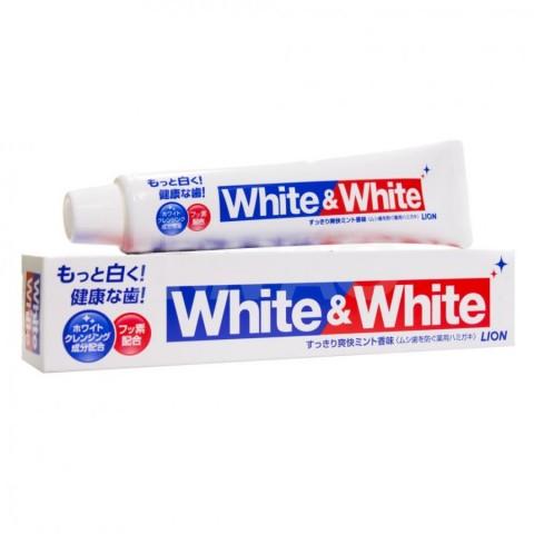 "Зубная паста отбеливающего действия LION ""White&White"""