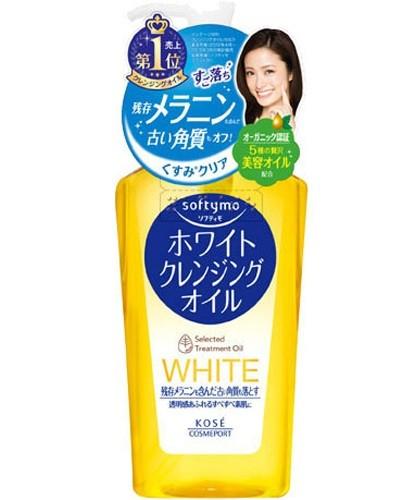 """Очищающее гидрофильное масло для снятия макияжа с отбеливающим эффектом KOSE COSMEPORT """"Softymo"""" без аромата"""